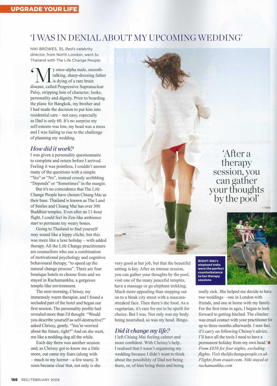 UK Magazine Red