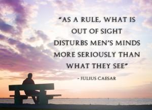 as a rule...